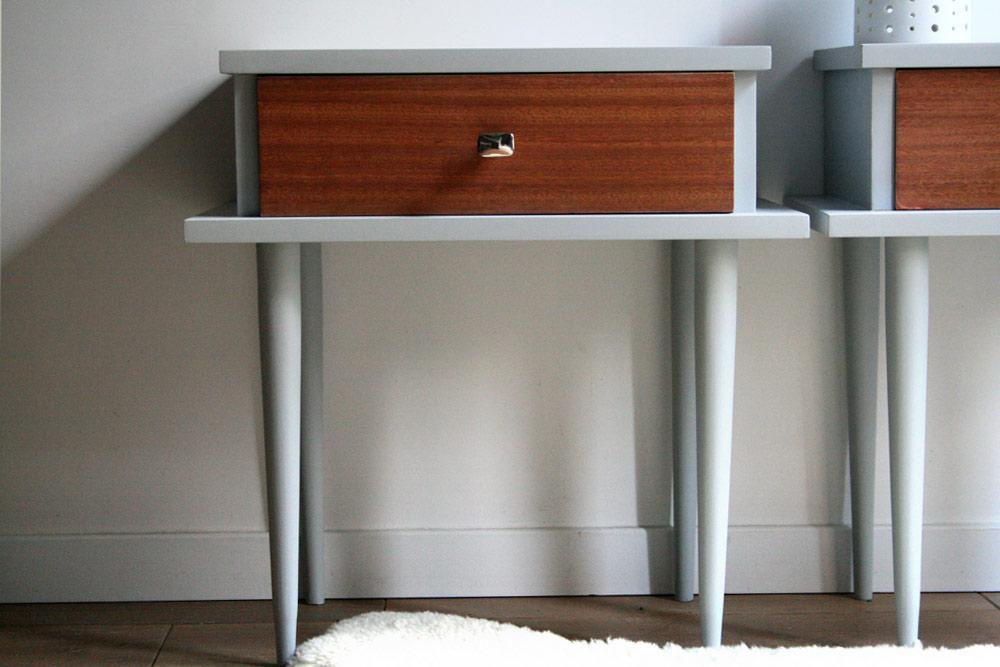 Tables de chevet twin sisters for Commande meubles concept
