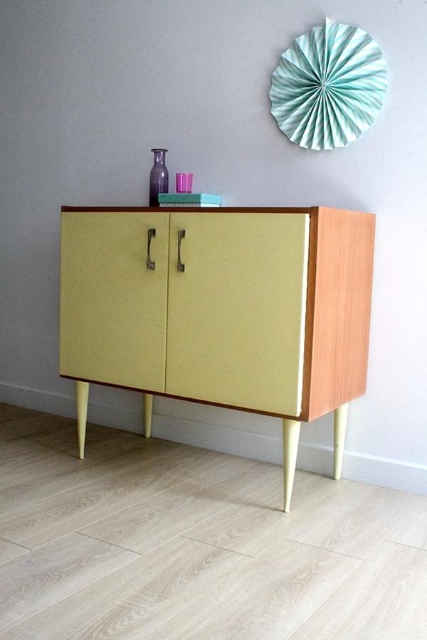 Meuble appoint vintage marceau les jolis meubles for Meuble antique a donner