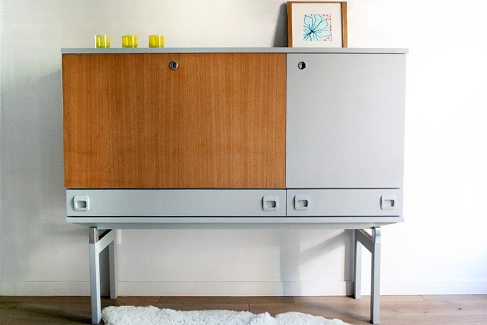 Buffet enfilade seventies for Commande meubles concept