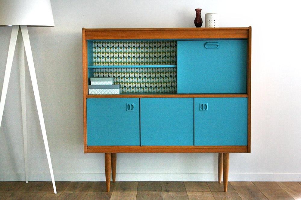 buffet vintage oscar. Black Bedroom Furniture Sets. Home Design Ideas