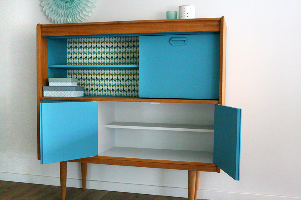 Buffet vintage oscar for Retro meuble