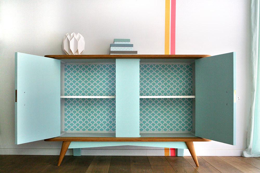 buffet vintage balthazar les jolis meubles. Black Bedroom Furniture Sets. Home Design Ideas