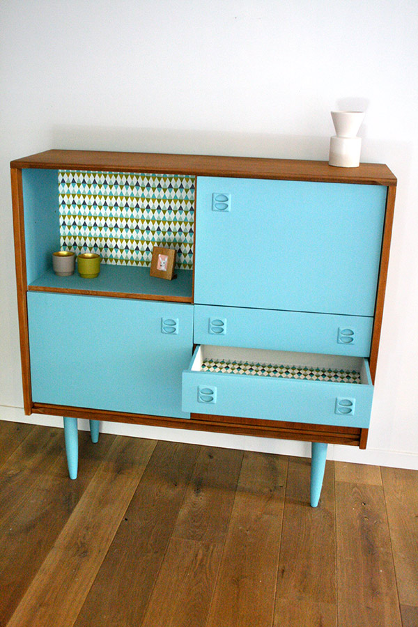 buffet vintage oscar 2 les jolis meubles. Black Bedroom Furniture Sets. Home Design Ideas