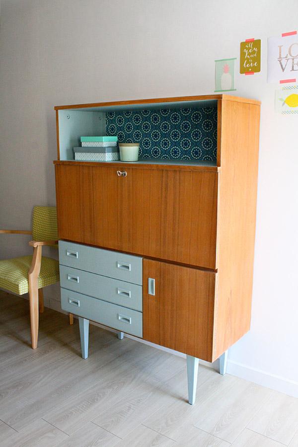 buffet secr taire vintage les jolis meubles. Black Bedroom Furniture Sets. Home Design Ideas