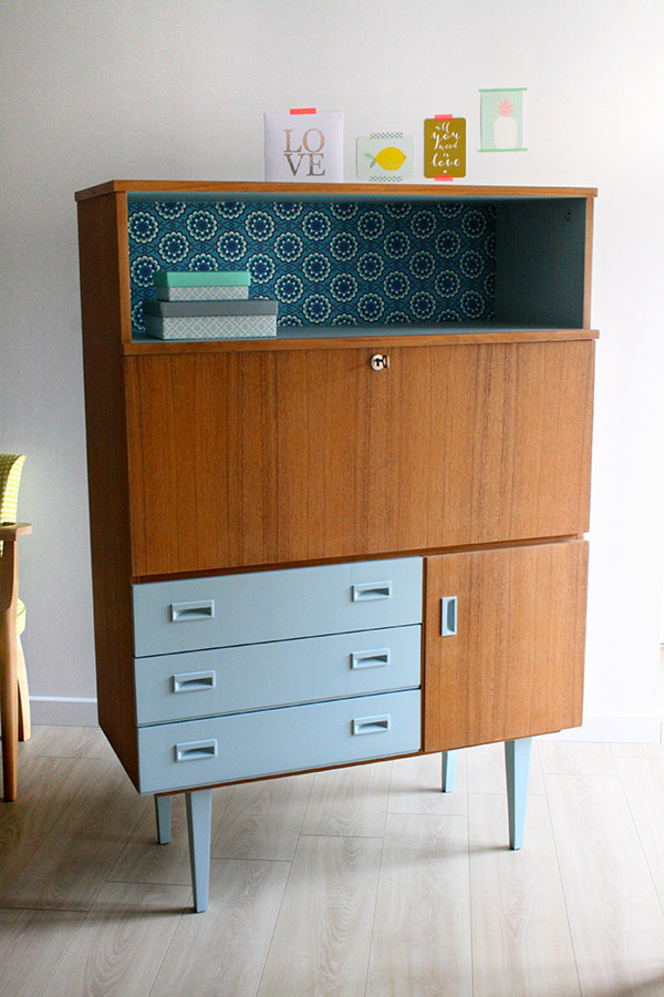 buffet secr taire vintage les jolis meubles. Black Bedroom Furniture Sets. Home Design Ideas