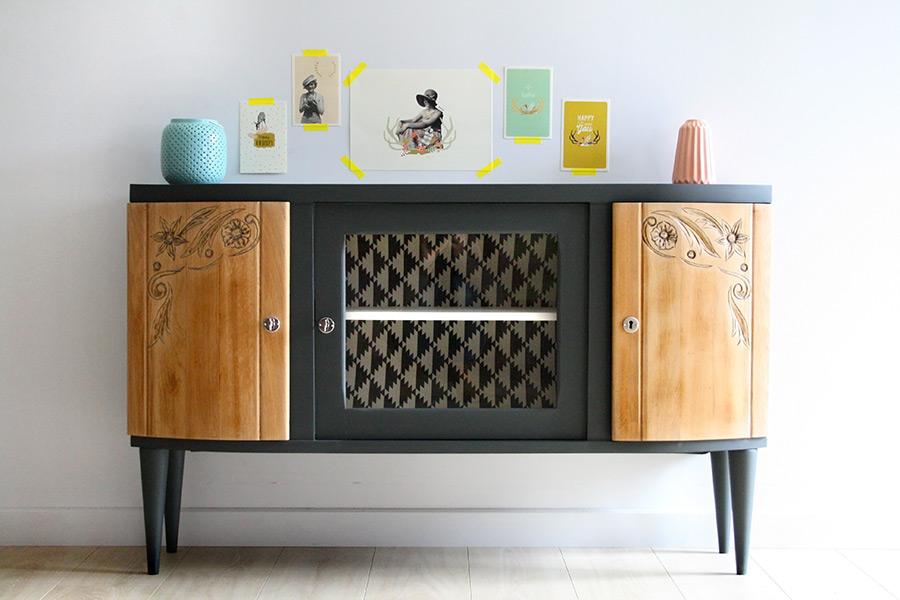 Enfilade vintage art d co c lestine les jolis meubles for Commande meubles concept