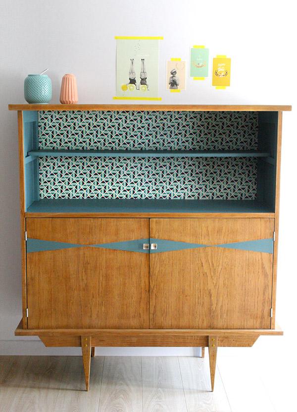 buffet vintage anselme les jolis meubles. Black Bedroom Furniture Sets. Home Design Ideas
