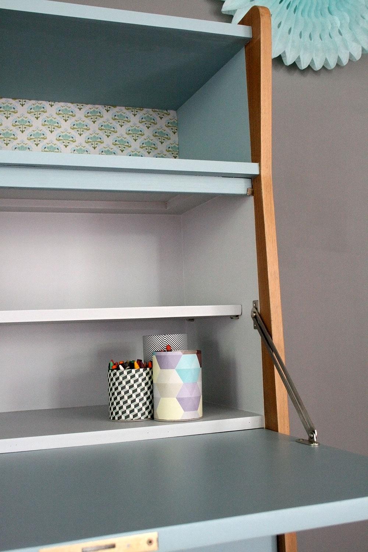 secr taire vintage octave les jolis meubles. Black Bedroom Furniture Sets. Home Design Ideas