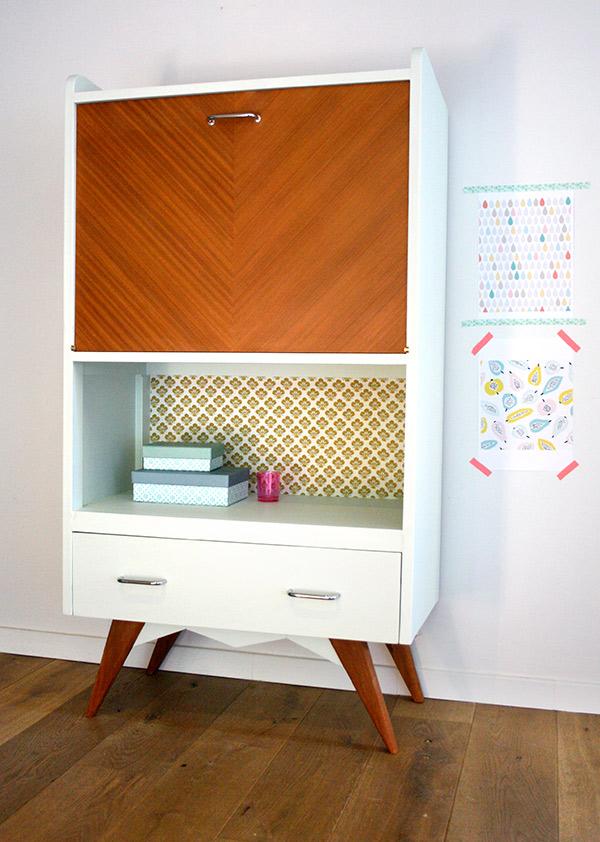 Secretaire vinage hector les jolis meubles for Commande meubles concept