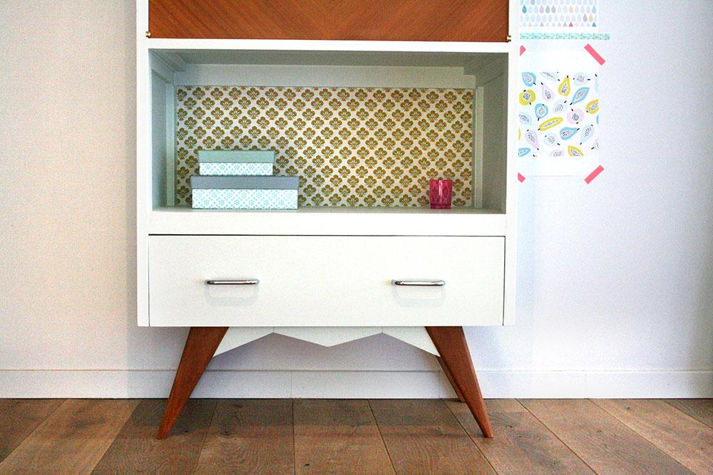 secretaire vinage hector les jolis meubles. Black Bedroom Furniture Sets. Home Design Ideas