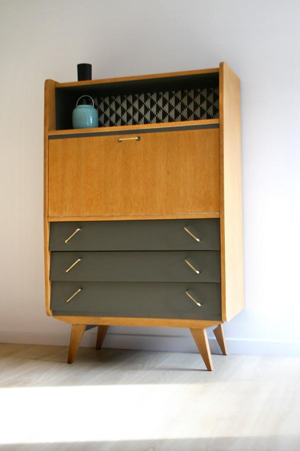 Secr taire vintage merlin les jolis meubles for Intemporel def