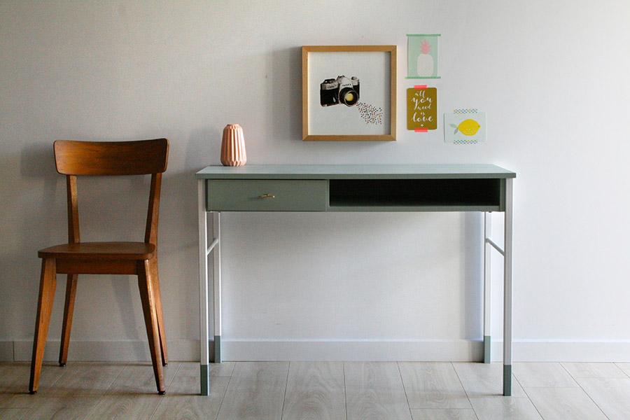 bureau vintage c sar les jolis meubles. Black Bedroom Furniture Sets. Home Design Ideas