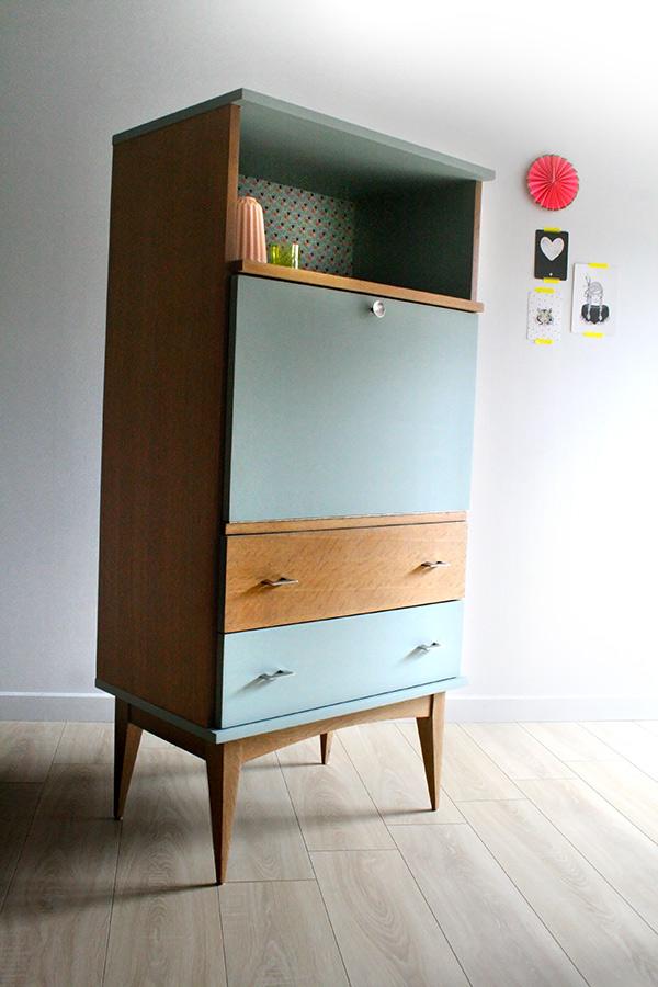 Secr taire vintage salomon les jolis meubles for Commande meubles concept