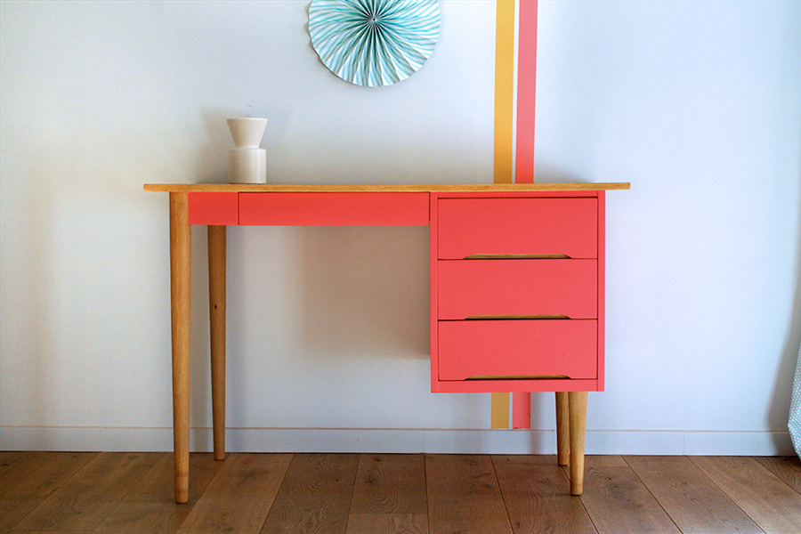 Bureau vintage lou les jolis meubles for Commande meubles concept