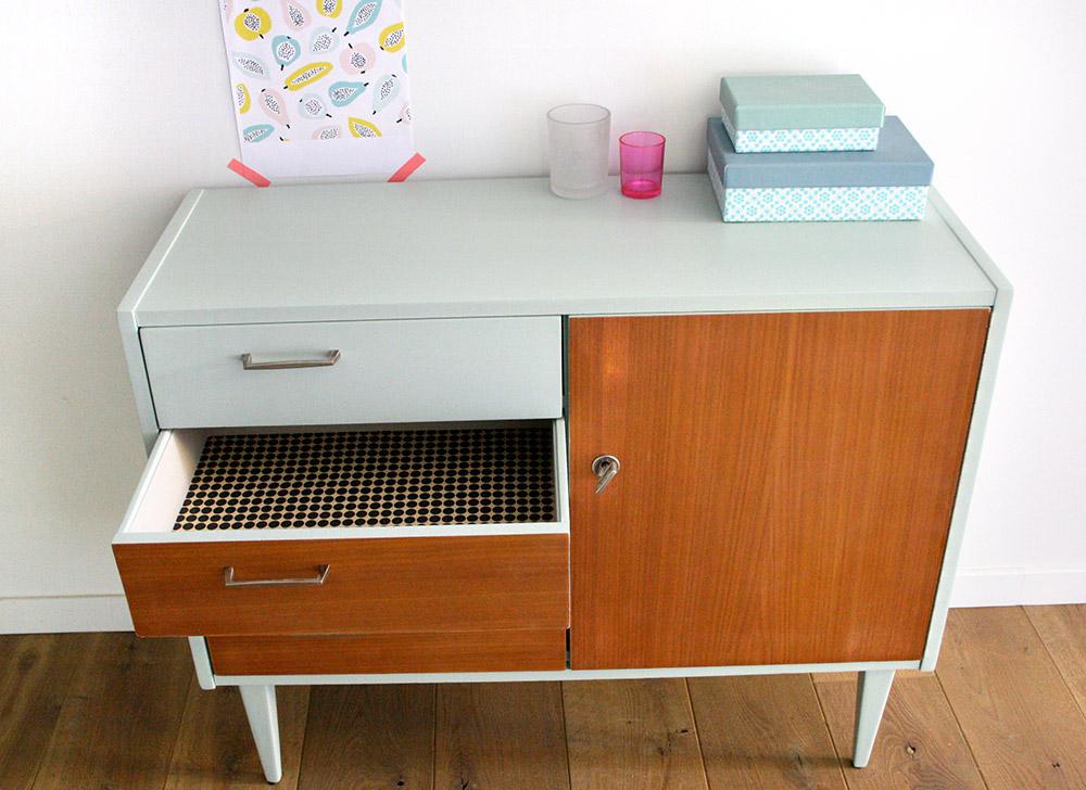 Commode vintage bianca les jolis meubles for Commande meubles concept