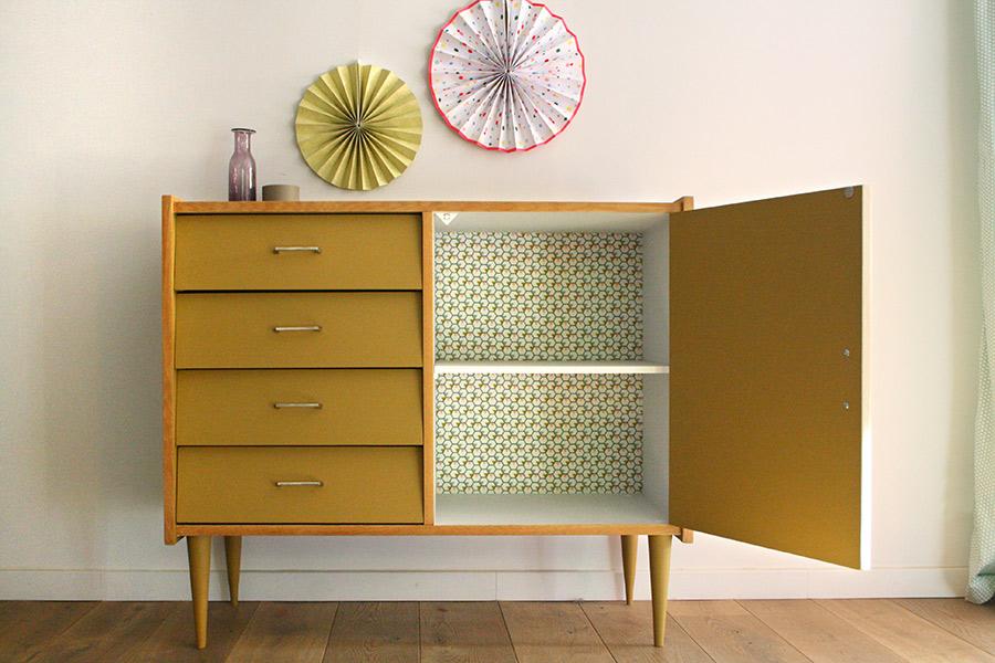 commode buffet vintage les jolis meubles. Black Bedroom Furniture Sets. Home Design Ideas